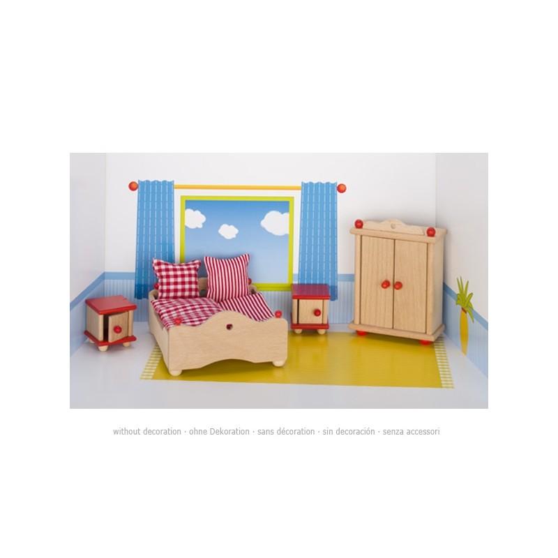 meuble chambre à coucher en bois